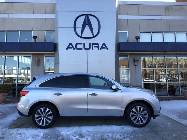 Pre-Owned 2015 Acura MDX SH-AWD with Technology Package