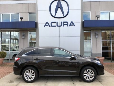 Certified Pre-Owned 2018 Acura RDX AWD